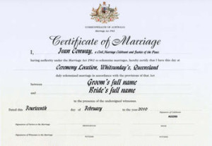 Information on requirements for your wedding day fullife marriage certificate sample yadclub Choice Image